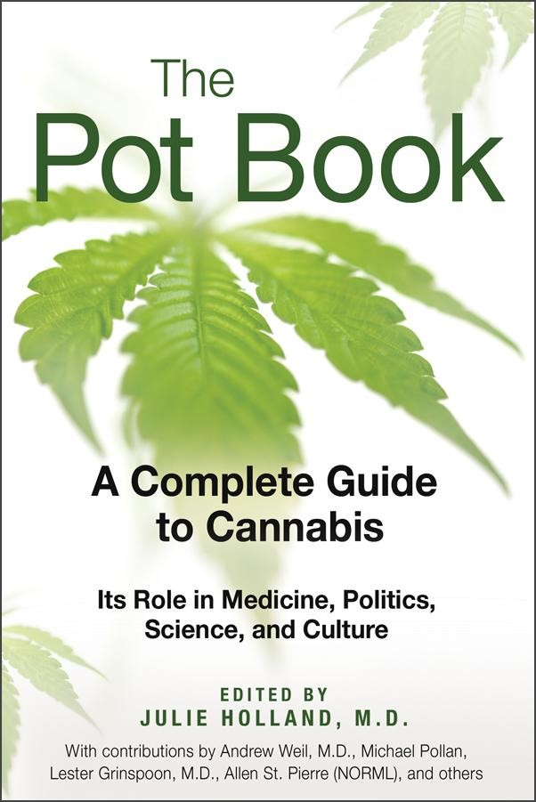 The Pot Book by Julie Holland, M.D.